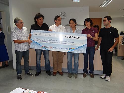 APCEF celebra com Fenae e Comitê Betinho a construção de cisternas no Nordeste