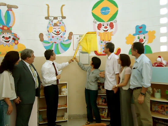 Inaugurada em Araçatuba Brinquedoteca Pedro Yamaguchi Ferreira