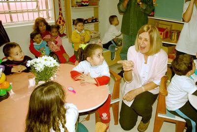 O Comitê Betinho, inaugurou em 20/08/09, no bairro das Perdizes/SP mais uma brinquedoteca,
