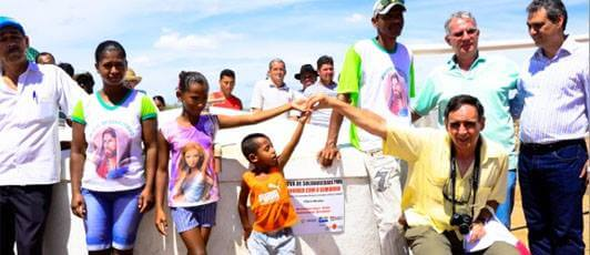 Rede de Solidariedade faz chegar mais cisterna no Sertão Baiano