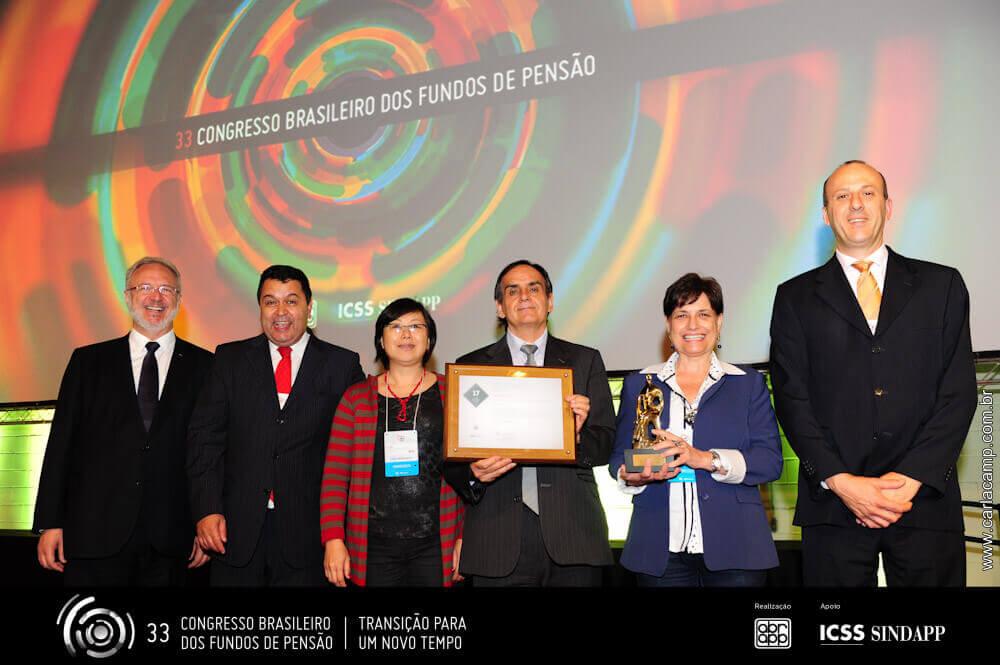Comitê Betinho é agraciado com prêmio da ABRAPP